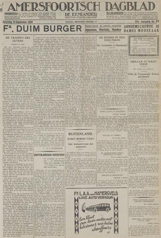 Amersfoortsch Dagblad / De Eemlander 1928-09-15