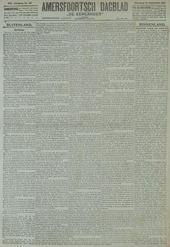 Amersfoortsch Dagblad / De Eemlander 1921-09-12