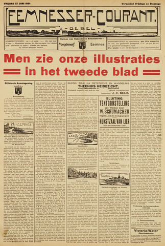 Eemnesser Courant 1924-06-27