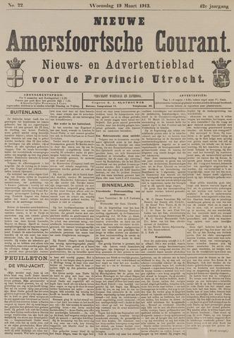 Nieuwe Amersfoortsche Courant 1913-03-19