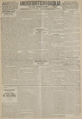 Amersfoortsch Dagblad / De Eemlander 1918-04-11