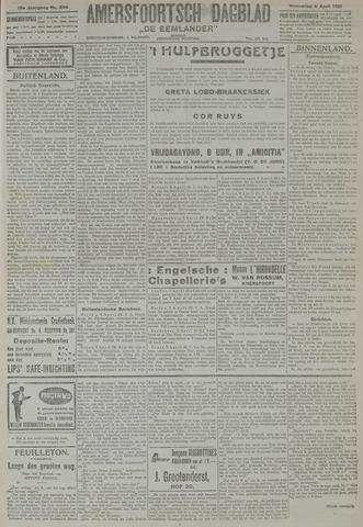 Amersfoortsch Dagblad / De Eemlander 1921-04-06