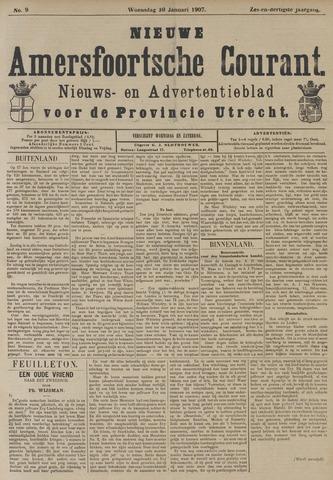 Nieuwe Amersfoortsche Courant 1907-01-30