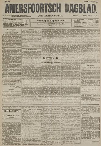 Amersfoortsch Dagblad / De Eemlander 1916-08-14