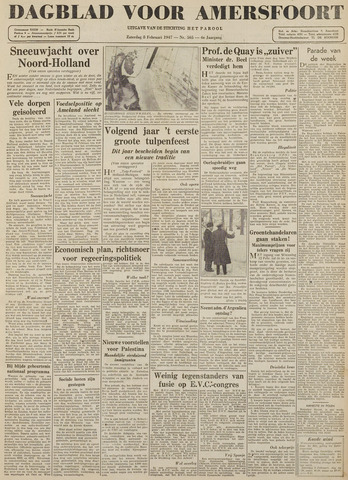 Dagblad voor Amersfoort 1947-02-08
