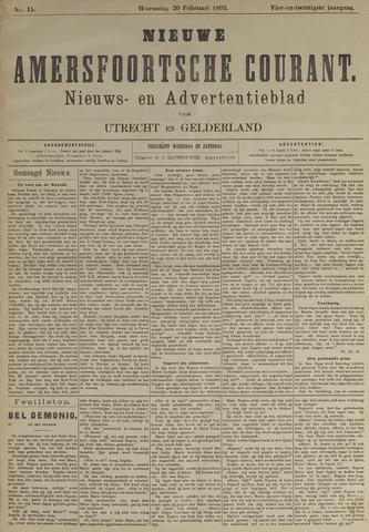 Nieuwe Amersfoortsche Courant 1895-02-20