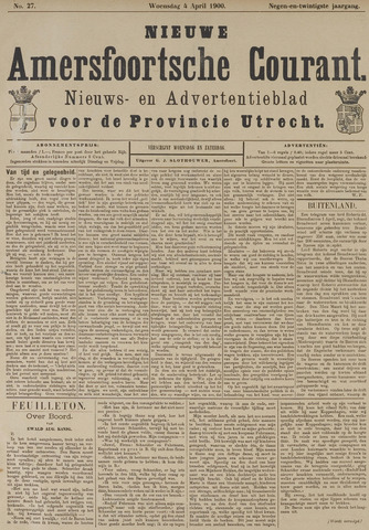Nieuwe Amersfoortsche Courant 1900-04-04