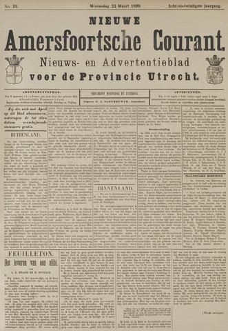 Nieuwe Amersfoortsche Courant 1899-03-22