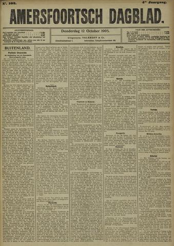 Amersfoortsch Dagblad 1905-10-12