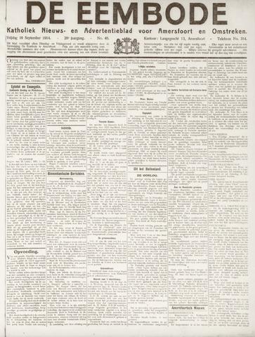 De Eembode 1914-09-18
