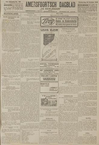 Amersfoortsch Dagblad / De Eemlander 1925-10-29