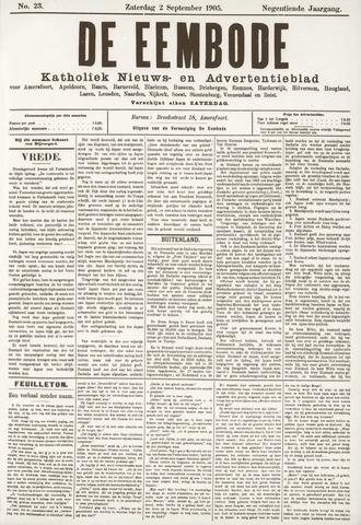 De Eembode 1905-09-02