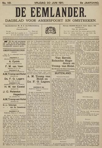 De Eemlander 1911-06-30