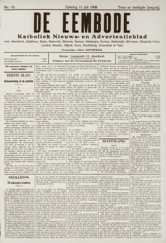De Eembode 1908-07-11