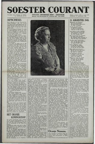 Soester Courant 1948-08-30