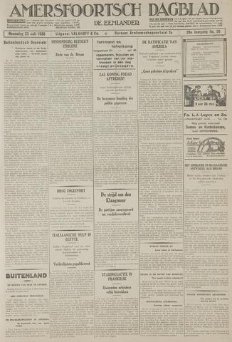Amersfoortsch Dagblad / De Eemlander 1930-07-23