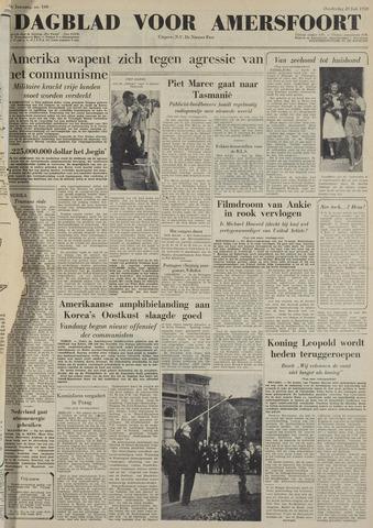 Dagblad voor Amersfoort 1950-07-20