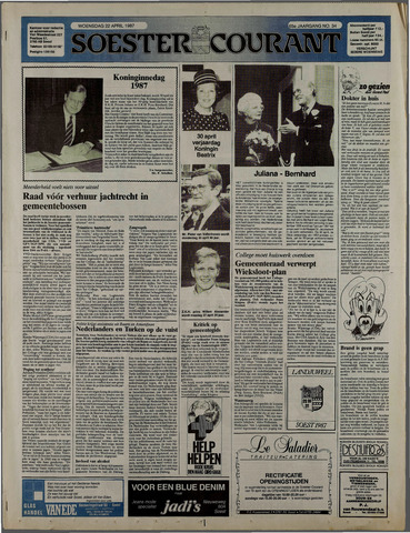 Soester Courant 1987-04-22