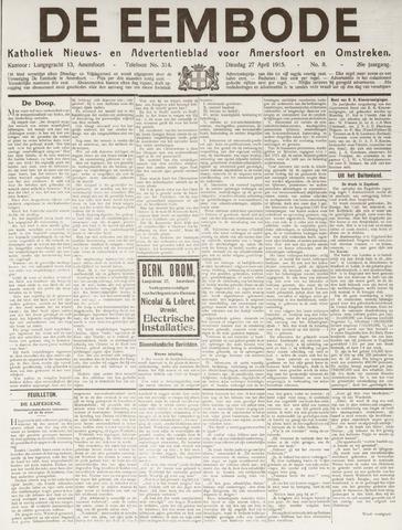 De Eembode 1915-04-27
