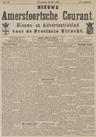 Nieuwe Amersfoortsche Courant 1918-05-15