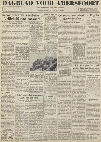 Dagblad voor Amersfoort 1947-11-03