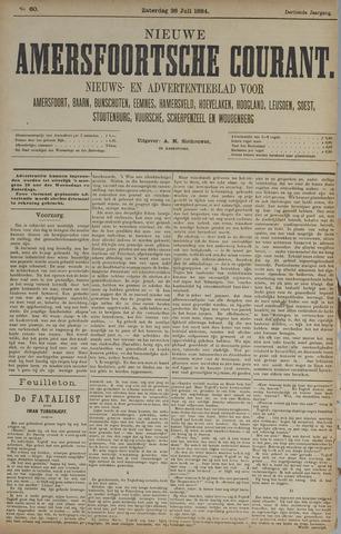 Nieuwe Amersfoortsche Courant 1884-07-26