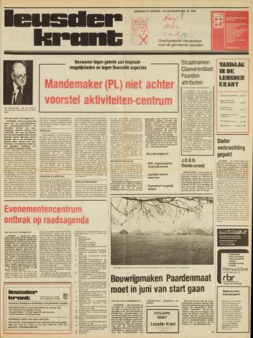 Leusder Krant 1981-01-27