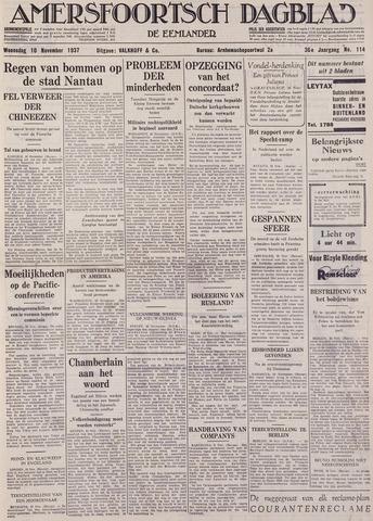 Amersfoortsch Dagblad / De Eemlander 1937-11-10