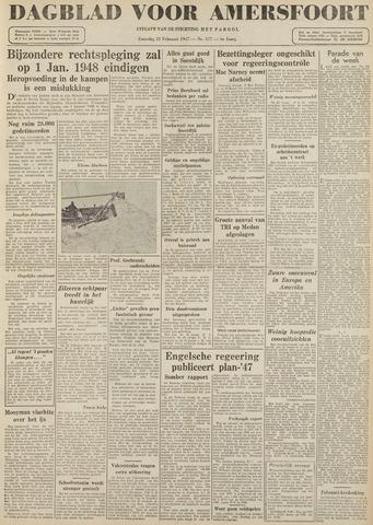 Dagblad voor Amersfoort 1947-02-22