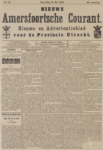 Nieuwe Amersfoortsche Courant 1913-05-24