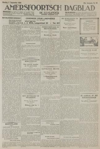 Amersfoortsch Dagblad / De Eemlander 1929-09-03