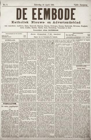 De Eembode 1891-04-18