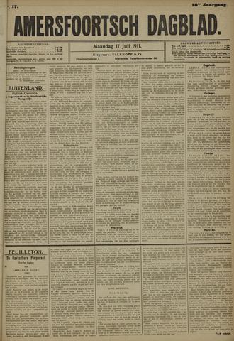 Amersfoortsch Dagblad 1911-07-17