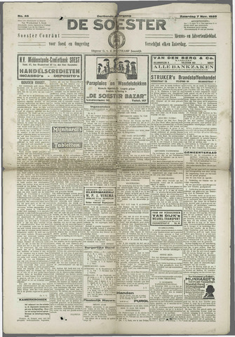Soester Courant 1925-11-07