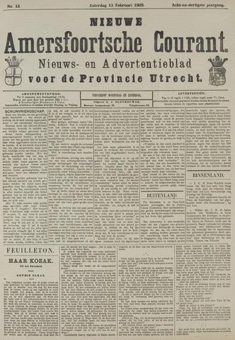 Nieuwe Amersfoortsche Courant 1909-02-13