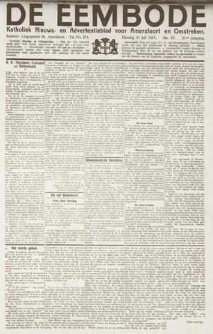 De Eembode 1917-07-31