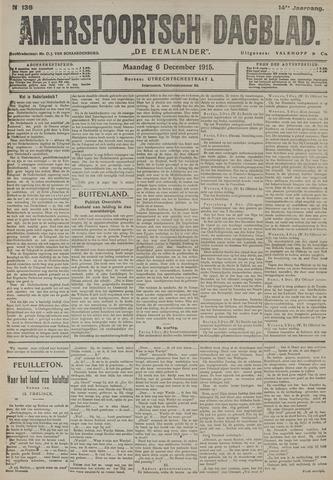 Amersfoortsch Dagblad / De Eemlander 1915-12-06