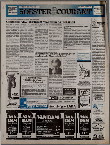 Soester Courant 1985-04-03