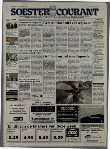Soester Courant 2003-10-15