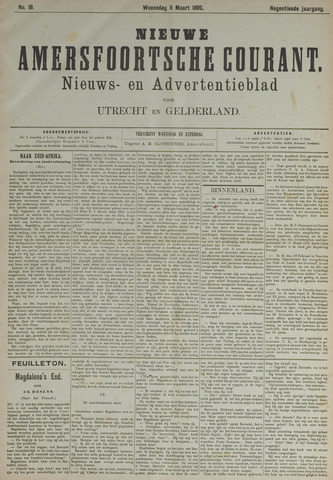 Nieuwe Amersfoortsche Courant 1890-03-05