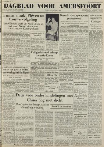 Dagblad voor Amersfoort 1951-02-01