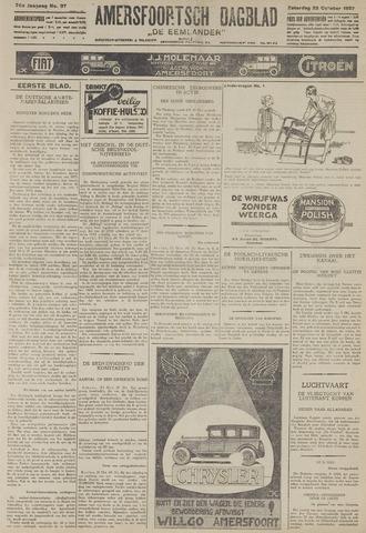 Amersfoortsch Dagblad / De Eemlander 1927-10-22