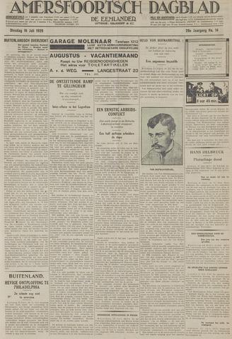 Amersfoortsch Dagblad / De Eemlander 1929-07-16