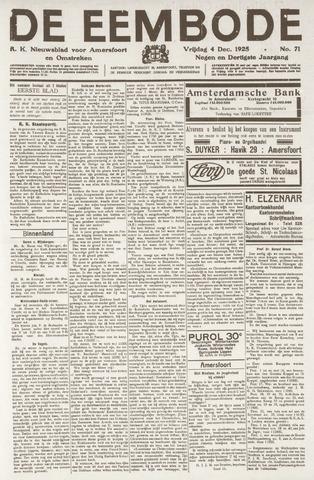 De Eembode 1925-12-04