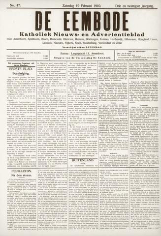 De Eembode 1910-02-19