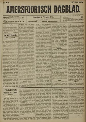 Amersfoortsch Dagblad 1912-02-05