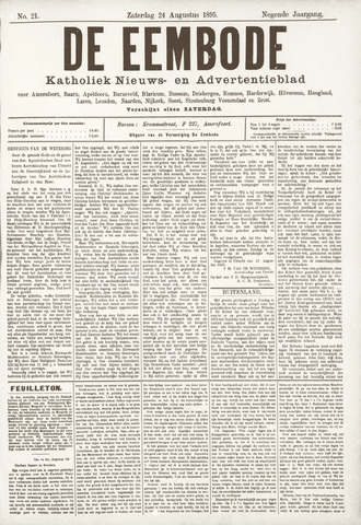 De Eembode 1895-08-24