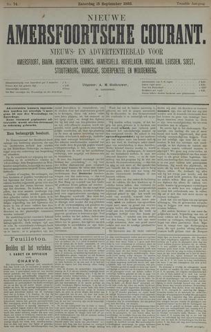 Nieuwe Amersfoortsche Courant 1883-09-15