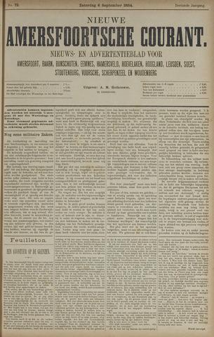 Nieuwe Amersfoortsche Courant 1884-09-06