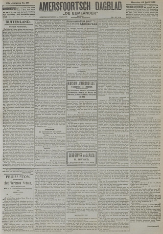 Amersfoortsch Dagblad / De Eemlander 1922-04-24